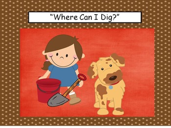 Sight Word Stories, Where Can I Dig