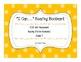 """I Can..."" 4th Grade Reading Fiction Bookmark"