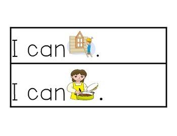 I Can Rebus Sentences