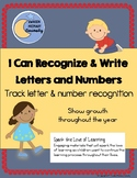 I Can Recognize & Write Letters and Numbers