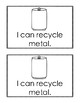 I Can Recycle: A Preschool Reader Book