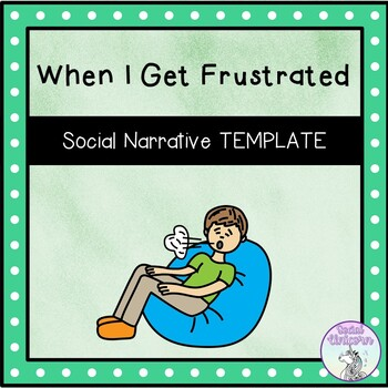 photo about Free Printable Social Story Template known as social tale template free of charge -