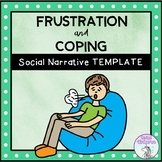 When I Get Frustrated - Social Story Template