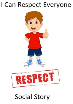 I Can Respect Everyone social story