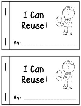 I Can Reuse Book (Creative Writing Activity)
