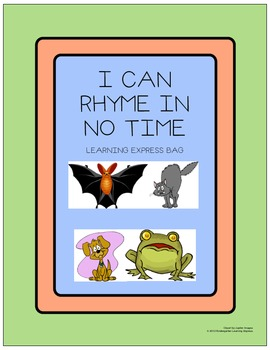 I Can Rhyme In No Time Learning Express Bag