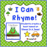 Rhyming - an I Can Rhyme Book