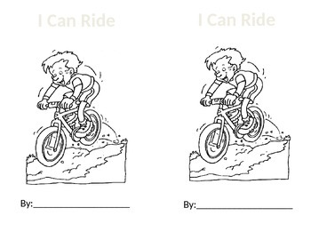 I Can Ride Booklet