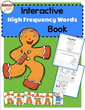 I Can Run! {Interactive High-Frequency Words Book}