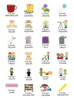 I Can Say.....   Speech Therapy Sticker Practice Book Bundle