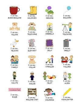 I Can Say.....   Speech Therapy Sticker Practice Book for L
