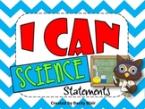 I Can Science Statements