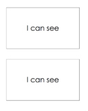 I Can See- A book for Beginners