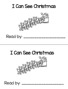 I Can See Christmas - Emergent Reader