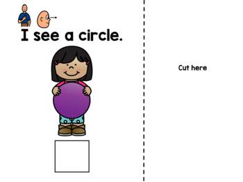 I Can See: Circles (Errorless Leveled Adapted Book)