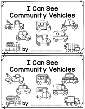 I Can See Community Vehicles~ reader