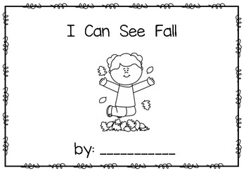 I Can See Fall~ emergent reader