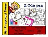 I Can See - Mini Preschool Theme - Sensory Eye Theme