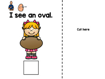 I Can See - Ovals (Errorless Leveled Adapted Book)