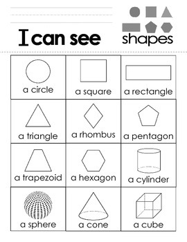 I Can See Shapes Book
