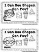 I Can See Shapes.  Can You?  (A Sight Word Emergent Reader)