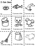 I Can See Sight Word Book