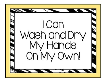 I Can! Self-Grooming Life Skills Posters