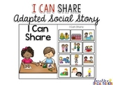 I Can Share - Adapted Social Story