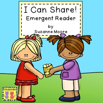 Emergent Reader FREEBIE   Sharing   Caring   Manners