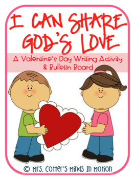 I Can Share God's Love Writing Activity