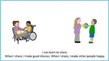 I Can Share - Social Story (FULL VERSION)