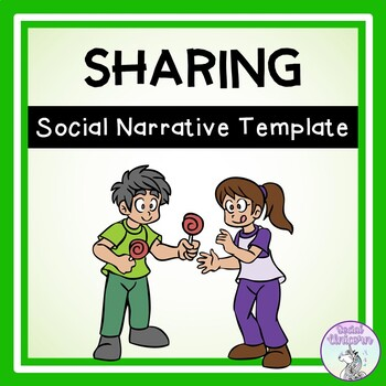 I Can Share - Social Story Template