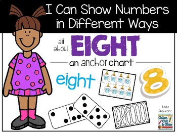I Can Show Numbers in Different Ways - Eight - an Anchor Chart