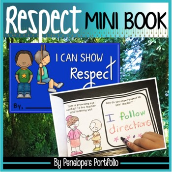 I Can Show Respect Mini Book