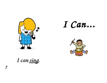I Can! Sight Word Book