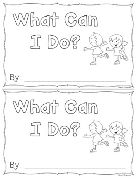 I Can Sight Word Book