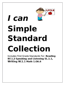 I Can Simple Statement poster mini collection