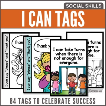 I Can Statement Success Tags - Social Skills