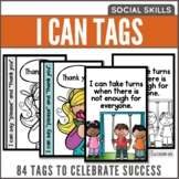 I Can Statements Kindergarten Social Skills