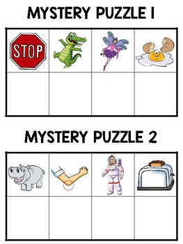 I Can Solve Mystery Puzzles...Long Vowels