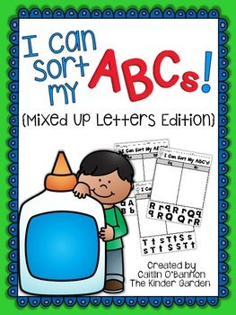 I Can Sort My ABCs! {Mixed Up Letters Edition}