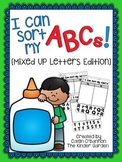 Alphabet Sort {Mixed Up Letters Edition}