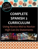 "Full Year ""I Can"" Spanish 2 IPA-Style Curriculum"
