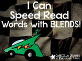 I Can Speed Read BLENDS Words Reading Game