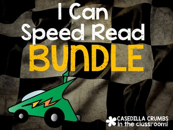 BUNDLE I Can Speed Read Words Reading Game Roll and Read