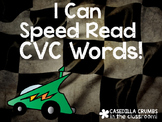 I Can Speed Read CVC Words Reading Game