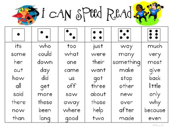 I Can Speed Read Deluxe {300 High Frequency Words}