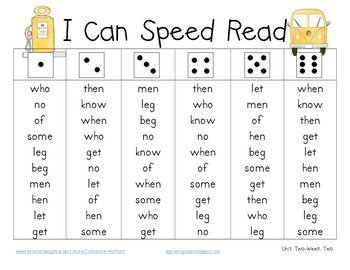 I Can Speed Read {First Grade Treasures Super Pack}