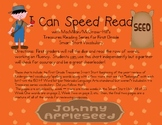 I Can Speed Read {Treasures First Grade Smart Start}