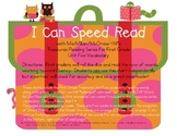 I Can Speed Read {Treasures Unit Five}